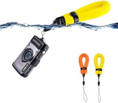 防水カメラ用ストラップ