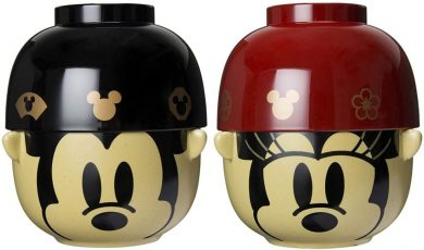 ディズニー ミッキー&ミニー 茶碗 大